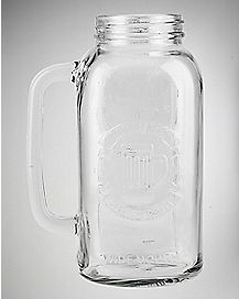 Mason Jar Beer Stein 66 oz