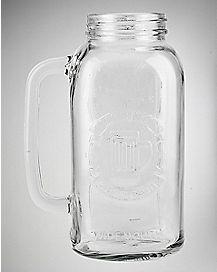 Mason Jar Beer Stein 66 oz