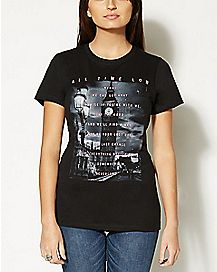 Wendy All Time Low T shirt