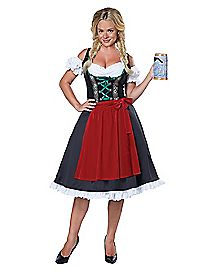 Adult Oktoberfest Maiden Costume