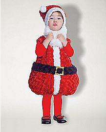 Toddler Santa Belly Costume