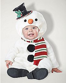 Baby Lil Snowman Costume