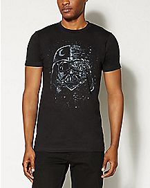 Broken Mask Darth Vader Star Wars T shirt