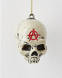 Sons of Anarchy Skull Helmet Holiday Ornament