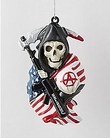 Blue Sons of Anarchy Holiday Ornament