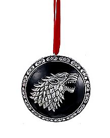 Game of Thrones Stark Ornament