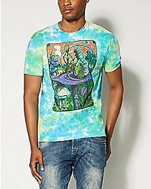 Wonderland Soft Tie Dye T Shirt