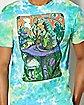 Wonderland Soft Tie Dye T Shirt