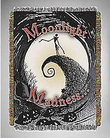 Moonlight Madness Jack NBC Tapestry Throw Blanket
