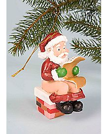 Santa's Load Christmas Ornament