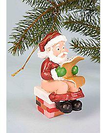 Santa's Load Christmas Ornament