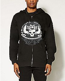 Five Finger Death Punch Knuckle Skull Hoodie