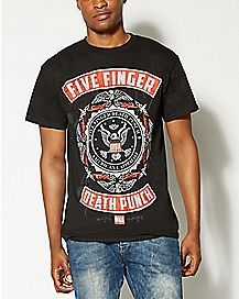 Roughed Up Five Finger Death Punch T shirt