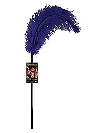 Purple Ostrich Tickler