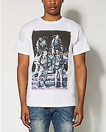 Group Photo Ghostbusters T shirt