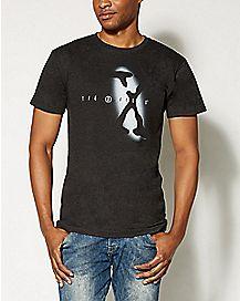 Spotlight Logo X-Files T shirt