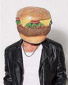 Head Cheeseburger Mask