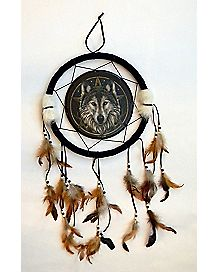 Lisa Parker Wolf Dream Catcher