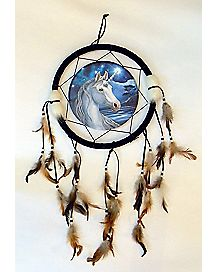 Lisa Parker Unicorn Dream Catcher