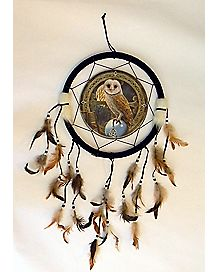 Owl Lisa Parker Dream Catcher