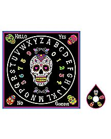 Lisa Parker Day of Dead Sugar Skull Ouija Board