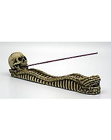 Skull Bones Incense Burner