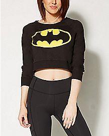 Batman Cropped Sweatshirt