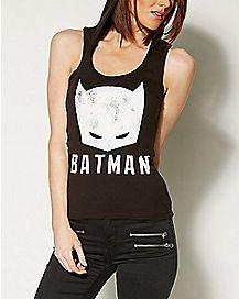 Hooded Batman Tank Top