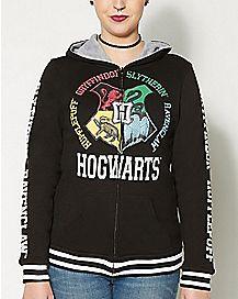 Harry Potter Reversible Zip Up Hoodie