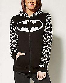 Batman Reversible Zip Up Hoodie
