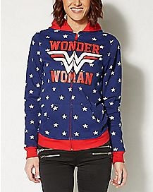 Reversible Wonder Woman Hoodie