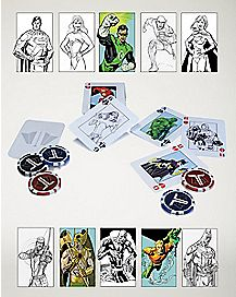 DC Justice League Starter Poker Set