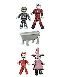 Nightmare Before Christmas Minimates Deluxe Set