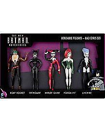 Batman Adventures Bad Girls Set Bendable Figures