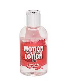 Motion Lotion Wild Cherry Flavored Lube - 6 oz.