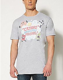 Crying Breakfast Friends Steven Universe T shirt