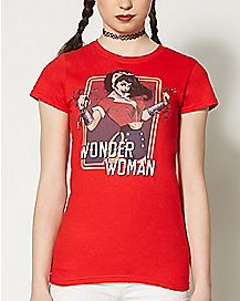 Break Chains Wonder Woman T Shirt - DC Comics