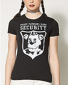Pizza Security T Shirt - Five Nights at Freddy's