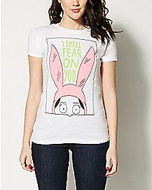 I Smell Fear On You Bob's Burgers T shirt