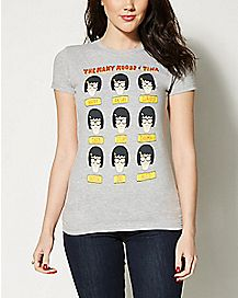 The Many Moods of Tina T Shirt - Bob's Burgers