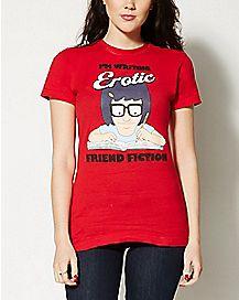 I'm Writing Erotic Friend Fiction Bob's Burgers T shirt