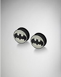 Glow in the Dark Batman Plug 2 Pack