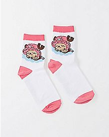 Tony Tony Chopper One Piece Crew Socks
