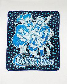 Sailor Moon Group Fleece Blanket