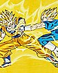 Dragonball Z Goku Vs Vageta Fleece Blanket