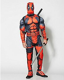 Adult Deadpool Costume Deluxe - Marvel Comics