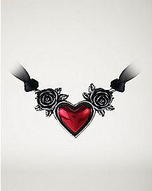 Alchemy Blood Heart Necklace