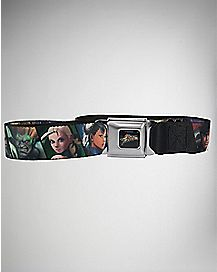 Character Street Fighter Seatbelt Belt