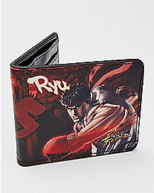 Ryu Akuma Street Fighter Bifold Wallet