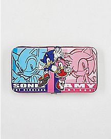 Amy and Sonic the Hedgehog Hinge Wallet